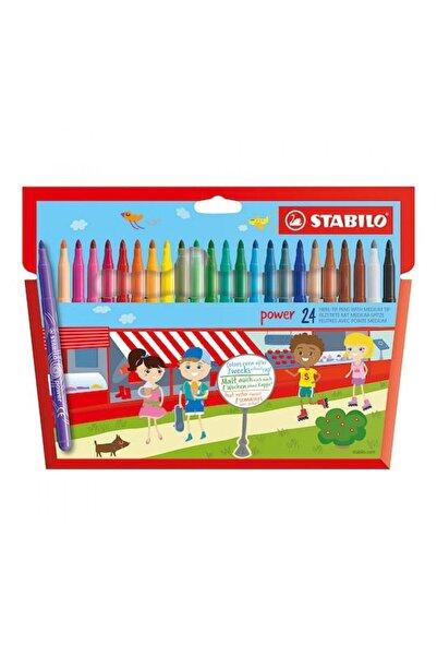 Stabilo Power Keçeli Kalem 24 Renk