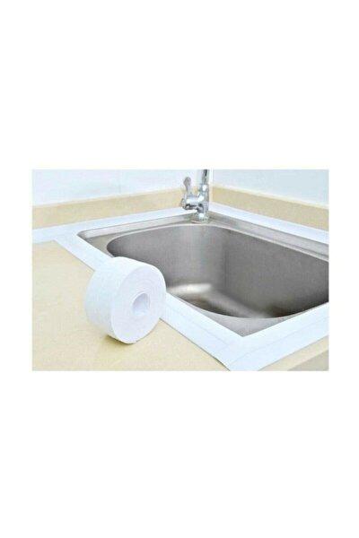 DEMİRHAN İTHALAT Su Sızdırmaz Bant Mutfak Lavabo Pencere Duvar Küvet Kenar Bandı 3.2 M