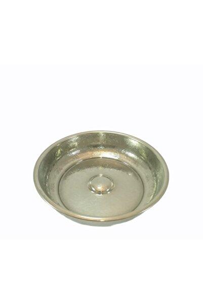 KAYSERİ BAKIRCILIK Hamam Tası Bakır Işlemeli Küçük Gümüş