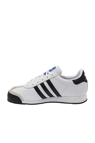 adidas Unisex Çocuk Beyaz Samoa J Günlük Ayakkabı Eg1578