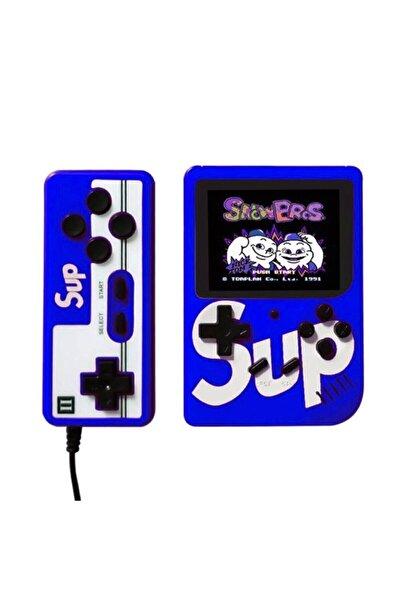 Mopal Sup Retro Gameboy Oyun Konsolu Mini Atari 2 Oyunculu Mavi