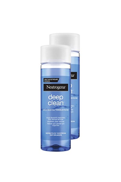 Neutrogena Deep Clean Göz Makyaj Temizleyicisi 125 Ml 2'li Set