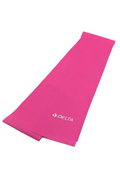 Delta Pilates Bandı Orta Sert 90 x 7,5 Cm Egzersiz Direnç Lastiği