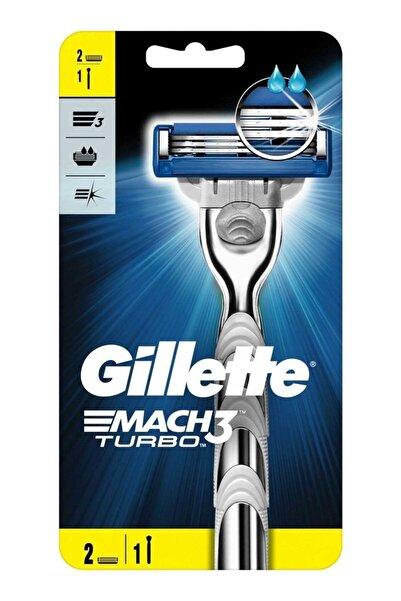 Gillette Mach 3 Turbo 1 Makine 2 Yedek Başlık