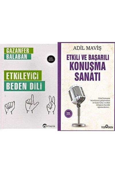 Yediveren Yayınları Etkileyici Beden Dili - Etkili Ve Başarılı Konuşma Sanatı 2 Kitap Set