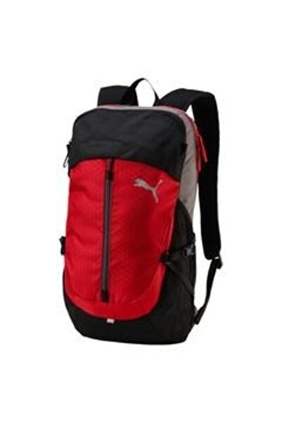 Puma Siyah-kırmızı Apex Backpack 075104-06