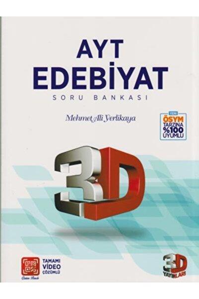 Çözüm Yayınları Ayt 3d Edebiyat Tamamı Video Çözümlü Soru Bankası | Mehmet Ali Ye