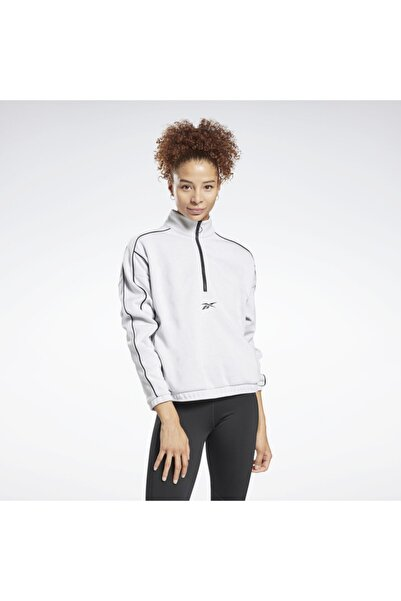 Reebok Kadın Beyaz Workout Ready Sweatshirt Gı6838