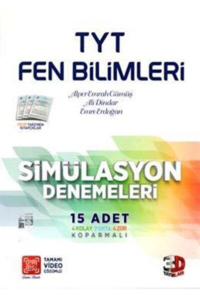 Çözüm Yayınları 3d Tyt Fen Bilimleri Simülasyon Denemeleri