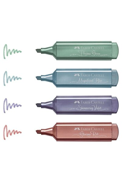 Faber Castell Faber-castell Yeni 4 Metalik Renk