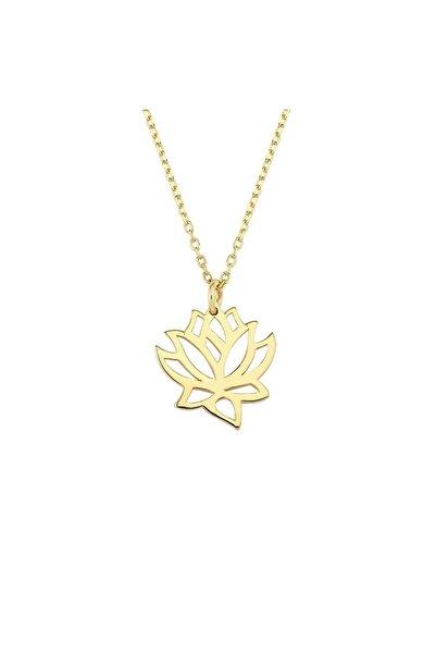 Altın Sepeti Altın Lotus Kolye