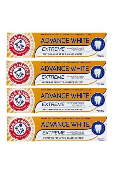 Arm&Hammer Advance White 3 Tona Kadar Beyazlatıcı Diş Macunu 75ml X 4 Adet