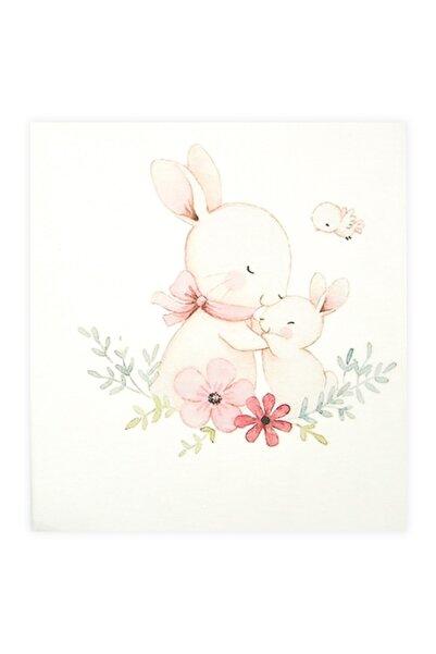 Bibaby Rabbit Pazen Bebek Battaniye 80x85 cm