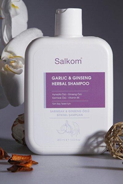 Salkom Sarımsak ve Ginseng Özlü Bitkisel Şampuan 400 ml
