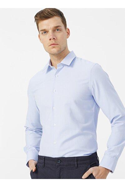 Fabrika Mavi Erkek Gömlek