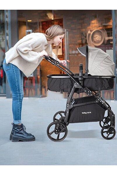 Baby Care Bc 310 Safari Gri Trio Travel Bebek Arabası Puset (g)