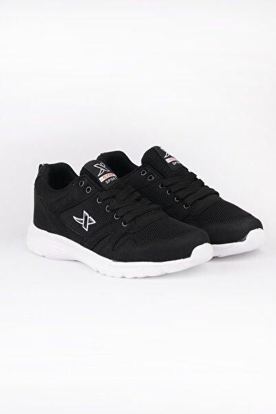 ODESA Unisex Siyah Spor Ayakkabı