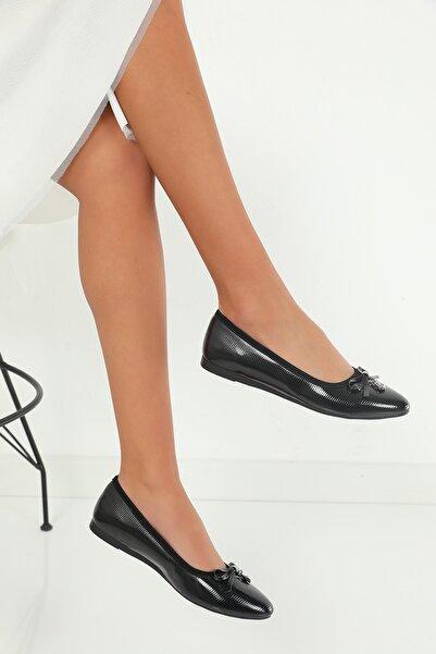 julude Rugan Kadın Babet Ayakkabı