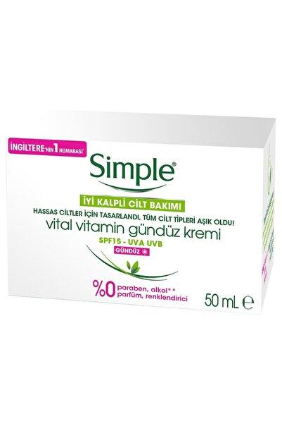 Simple Vital Vitamin Gündüz Kremi Spf 50 ml