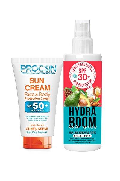 Procsin Güneş Kremi Ve Hydra Boom Saç Spreyi Paketi