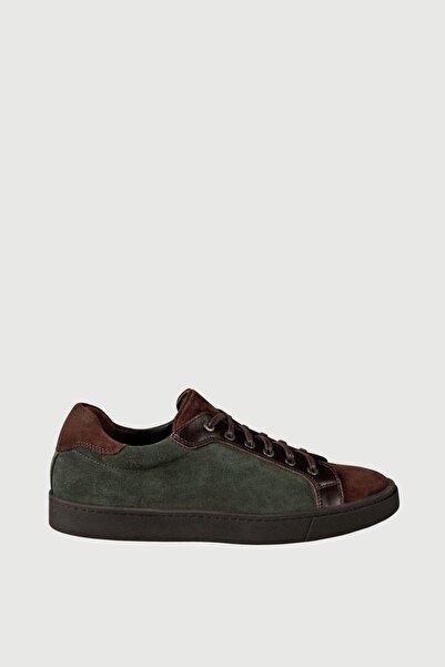 Male Industry Yeşil Süet Erkek Sneaker