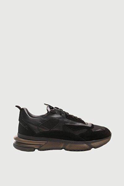 Male Industry Siyah Zero Gravity Taban Sneaker