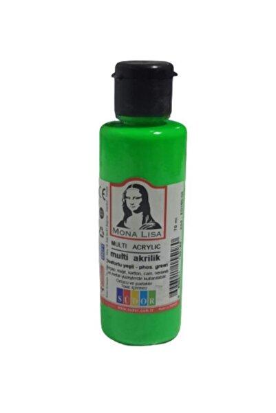 Monalisa Mona Lısa Akrılık Boya 70 Ml Fos.yesıl (sd160-08)