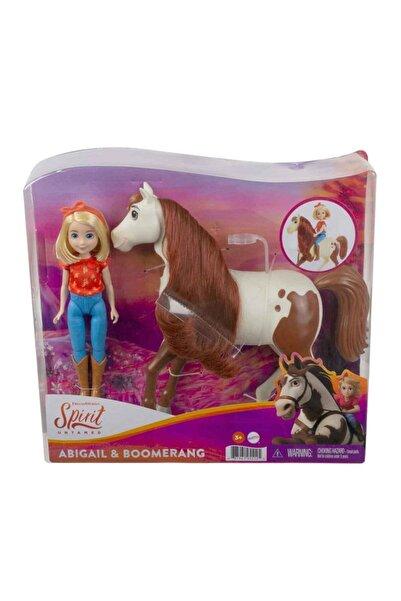 mattel Spirit - Bebek Ve Güzel Atı Oyun Seti Gxf20 - Abigail & Boomerang