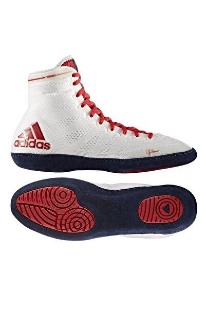 adidas Adizero Wrestling X Whıte Güreş Ayakkabısı M18728 Beyaz