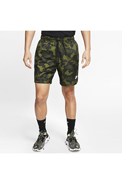 Nike Ce Wvn Flow Erkek Camo Şort Cj4550-331