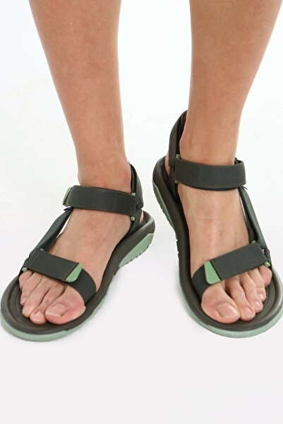 Beyond Fx Haki Erkek Cırtlı Trekking Sandalet