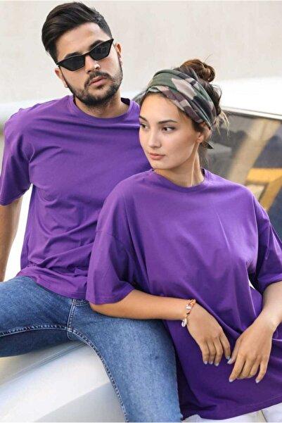 giyinbizden Sevgili Kombini Tişört Oversize