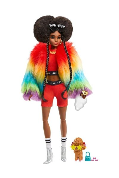 Barbie Extra-renkli Ceketli Bebek Gvr04