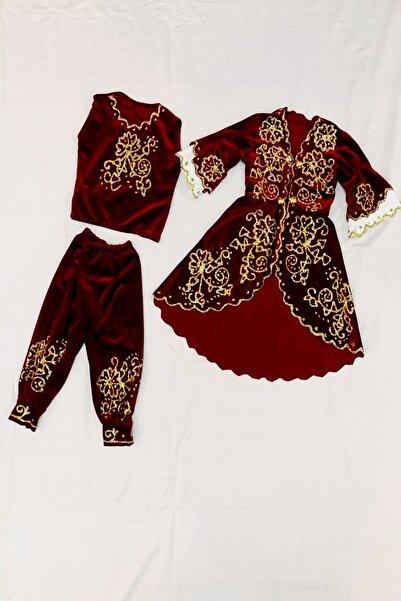 Tiryakioğlu Bindallı Kız Bebek/çocuk Bindallı Takımı