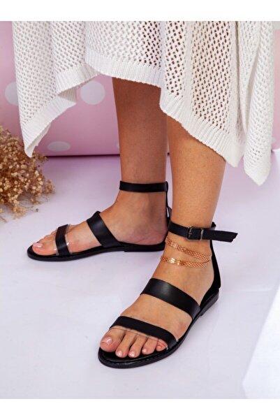ayakkabıhavuzu Sandalet Siyah Ayakkabı Havuzu