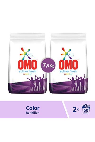 Omo Sık Yıkananlar Beyazlar Ve Renkliler Için Toz Çamaşır Deterjanı 7.5 Kg 50 Yıkama X 2