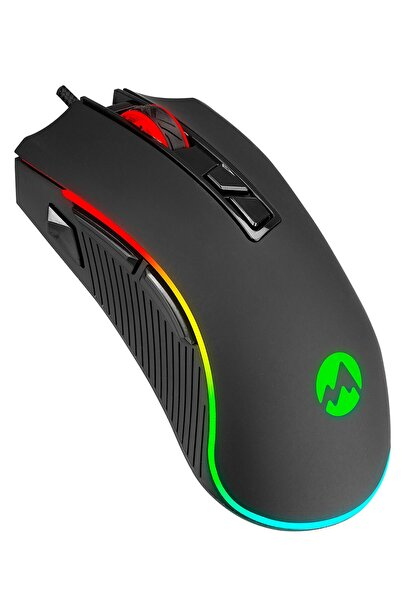 Everest Rampage Sm-g06 Sagitta 6400dpi Usb Makrolu Rgb 8d Gaming Oyuncu Mouse