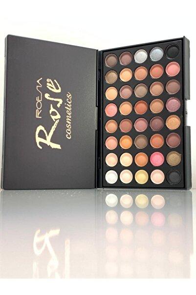 Roesıa Rose Cosmetics Çok Renkli 40'lı Far Paleti