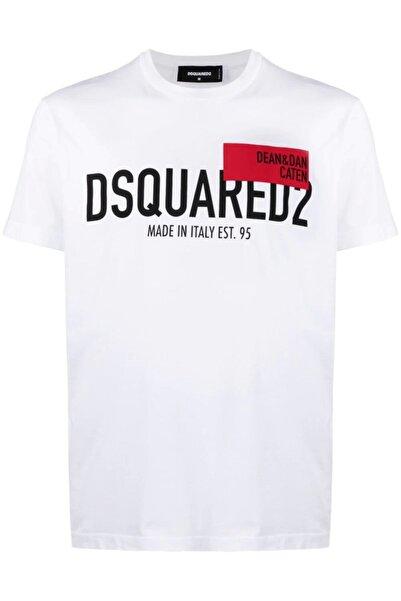 DSquared2 Red Tag Logo-print T-shirt