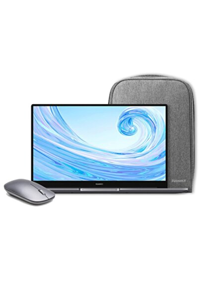 "Huawei Matebook D15 I3 10110u 8gb 256gb Ssd W10 Home 15.6"" Fhd + Notebook Çantası Ve Mouse"