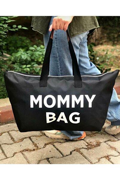 WolMer Bags Mommy Bag Siyah Anne Bebek Bakım Çantası