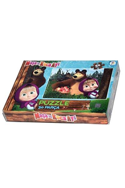 Utku Oyuncak Ms7574 Laço Kids Maşa Ile Koca Ayı 30 Parça Puzzle