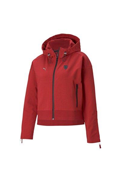 Puma Kadın Kırmızı Scuderia Ferrari Style Ceket
