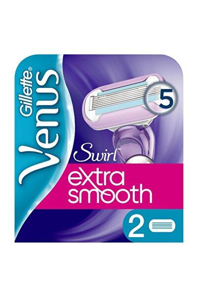Gillette Venus Swirl Extra Smooth Kadın Tıraş Bıçağı 2'li