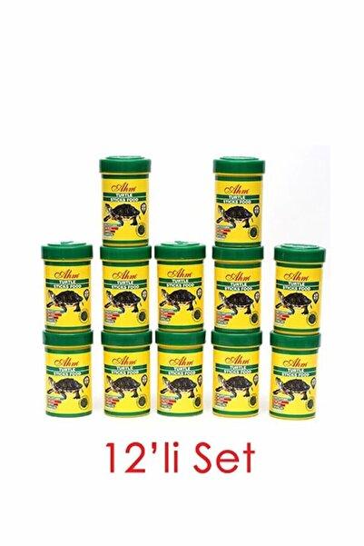 Ahm Turtle Stick Green Food Otçul 100 ml 12li Kaplumbağ Yemi 8699375330557
