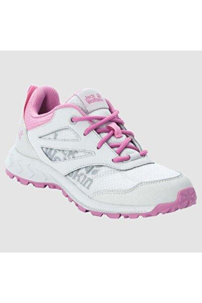 Jack Wolfskin 4042171 Woodland Low Grey/pink Kadın Outdoor Ayakkabı