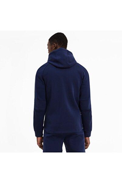 Puma EVOSTRIPE FZ Lacivert Erkek Sweatshirt 101119429