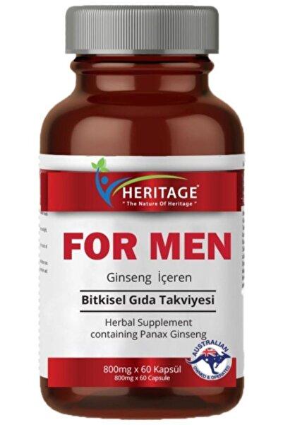 HERITAGE For Men Ginseng Ekstresi 60 Kapsül