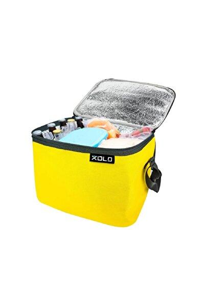 xolo Oto Araç Termos Buzluk Çanta Sarı 32 Litre Thermo Bag Katlanabilir