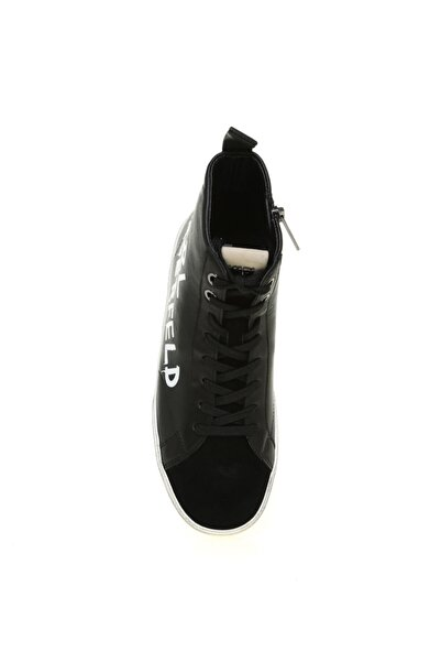 Karl Lagerfeld Kadın Siyah Skool Brush Logo Sneaker